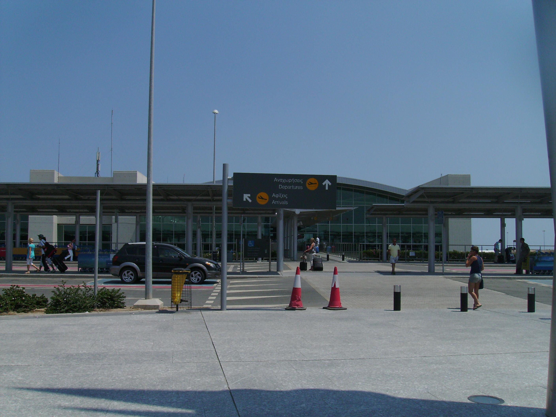 Larnaca Airport - the main airlock of Cyprus 44